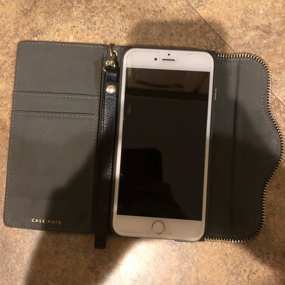 Rebecca Mincoff leather case mate iPhone 5c holder